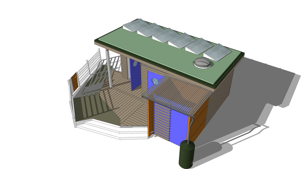 THE ECO SHED, GODOLPHIN PARK, LONDON 7