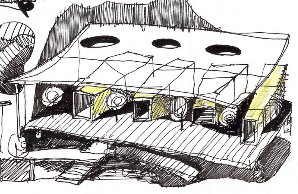 Architecture School Sketch