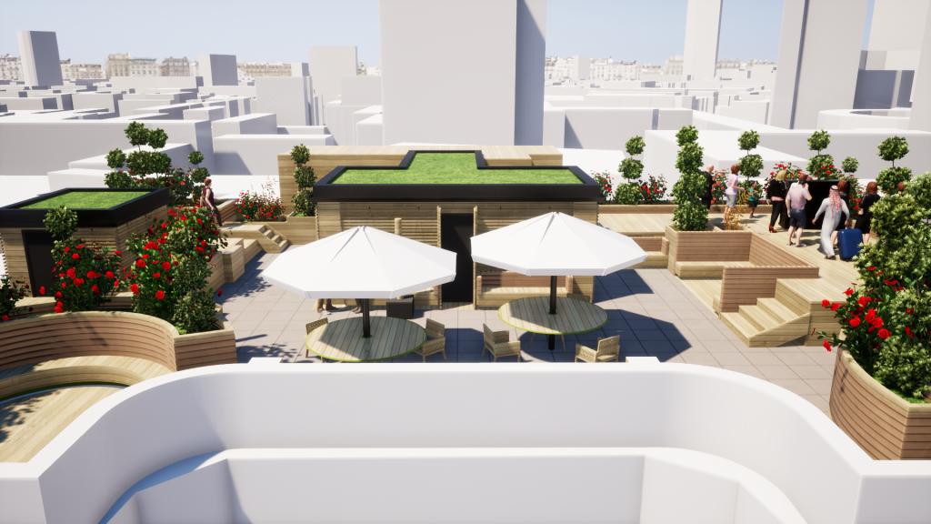 Terrace Garden London