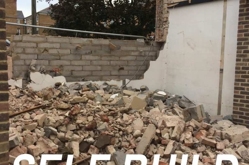 Self Build ICF House – 1 – Purchase of Land & Demolition