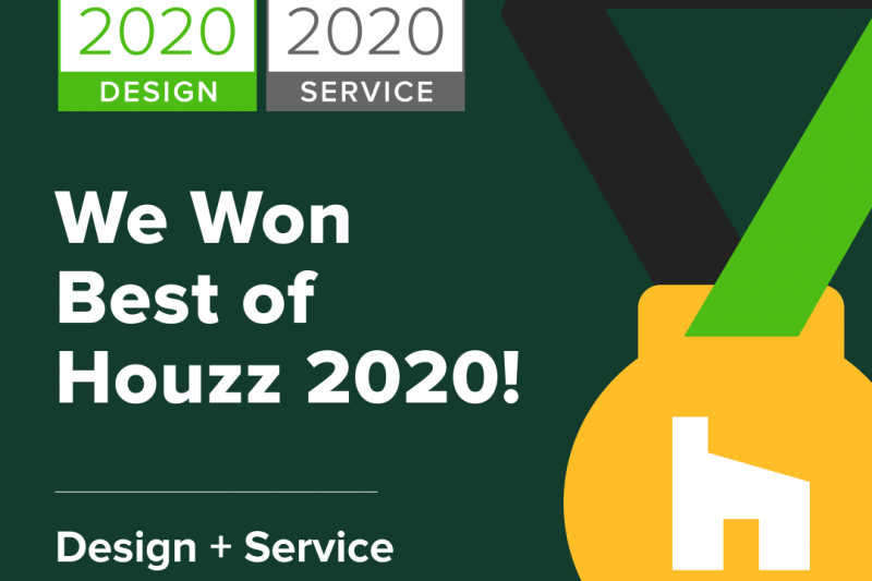 Shape Architecture wins Best of Houzz 2020 for Design and Customer Service