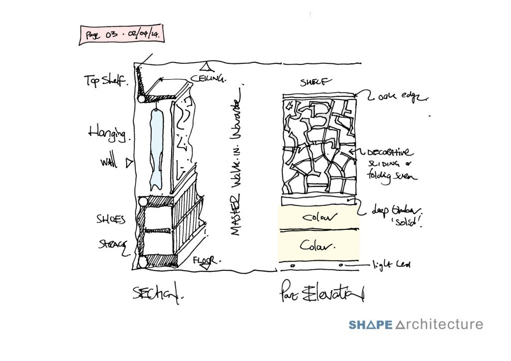 sketch home extension, detailed construction sketch, home extension hastings